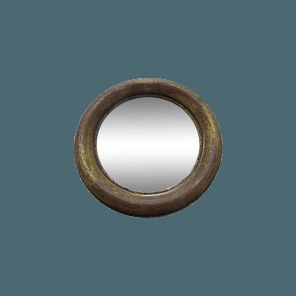 Round wooden mirror the socialite family for Miroir rond 60