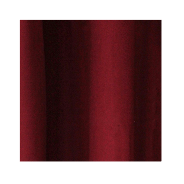 Burgundy Wool Curtains