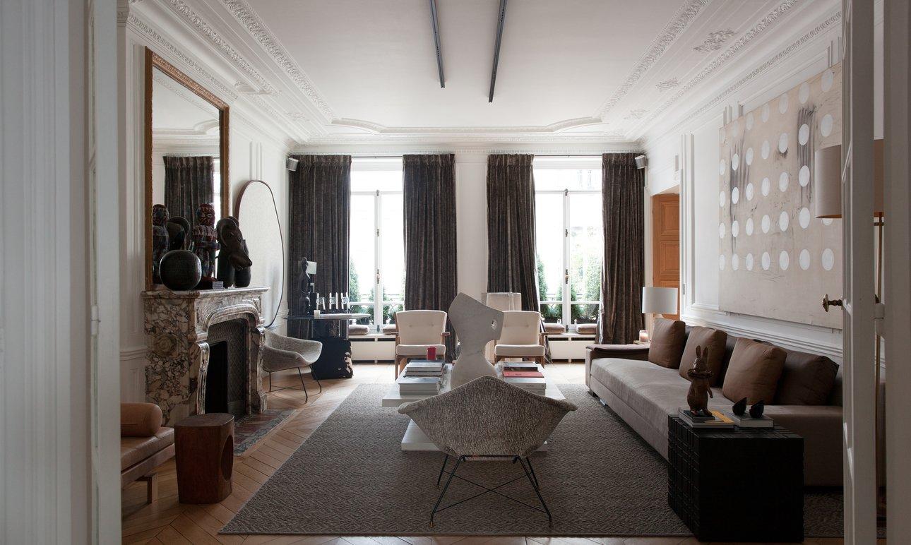 Salon Appartement Amélie Gillier