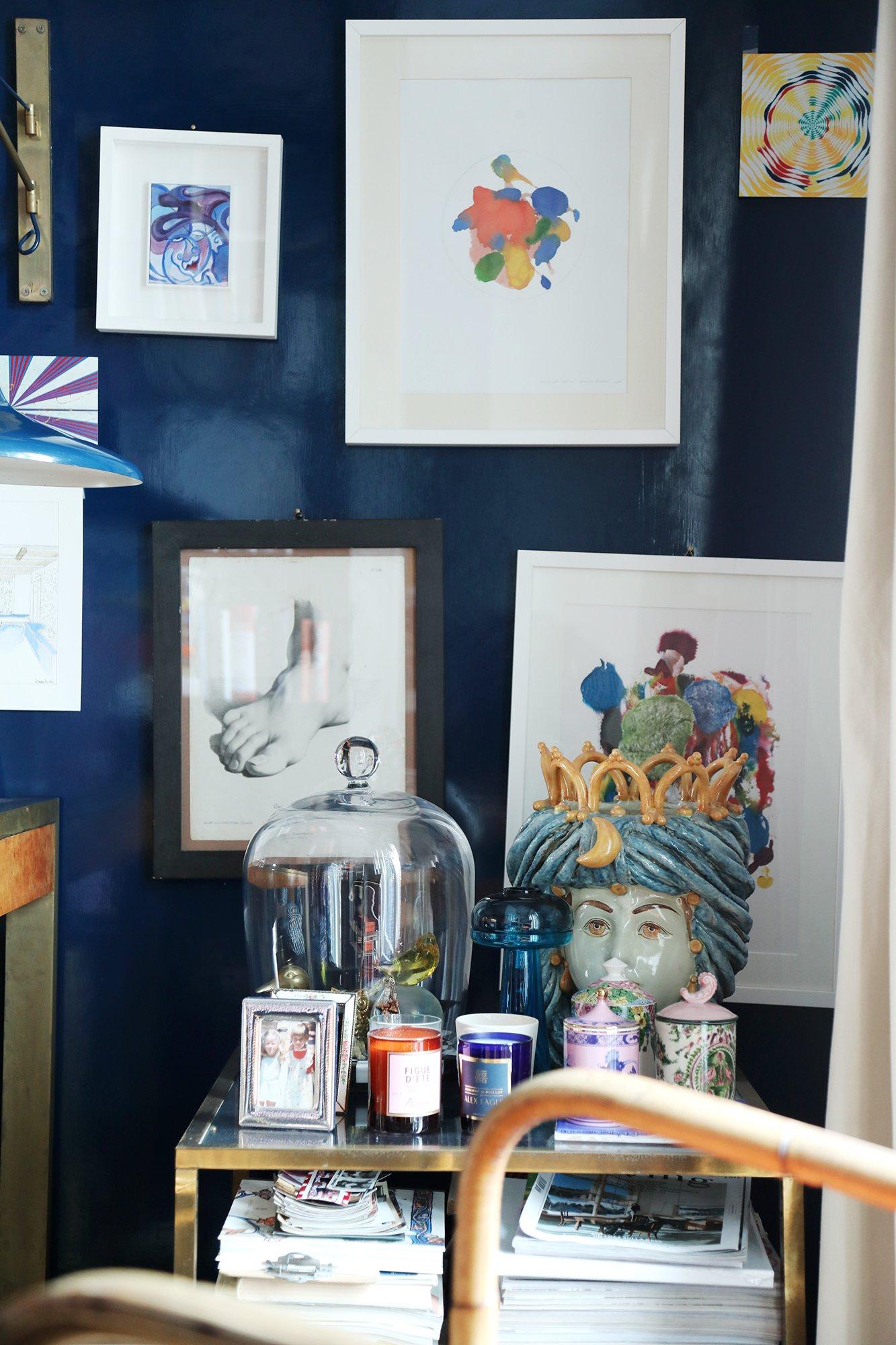 Couloir Oeuvres art Appartement JJ Martin La DoubleJ