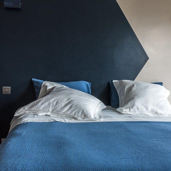 housse de couette como bleue the socialite family. Black Bedroom Furniture Sets. Home Design Ideas
