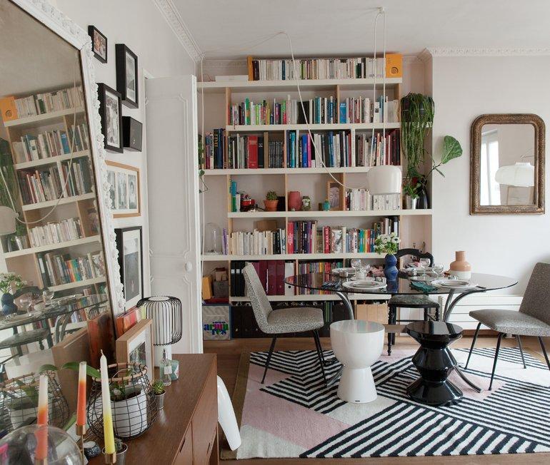 Appartement Salon Créatrice Ma Poésie Elsa Poux Paris