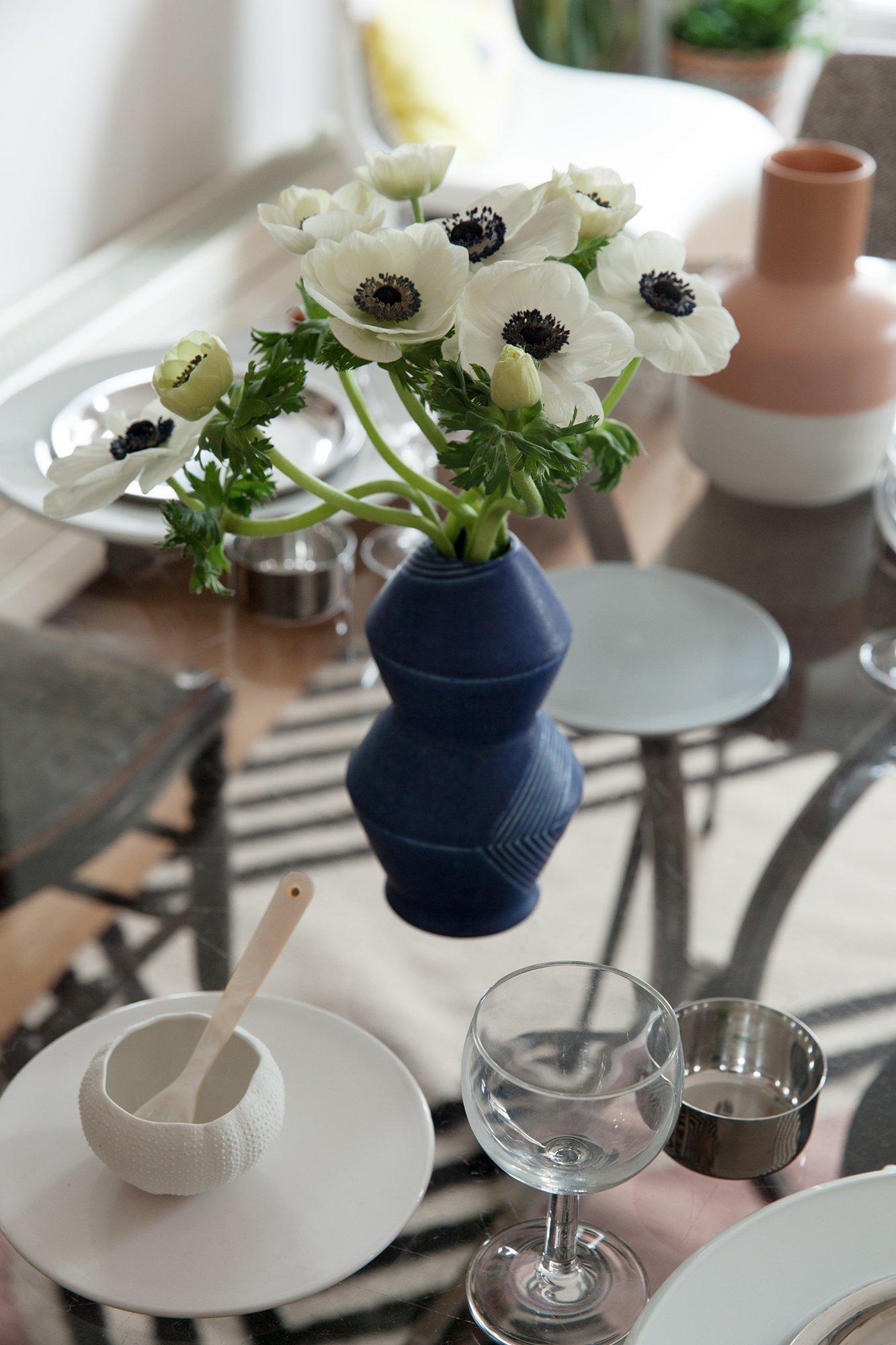Appartement Salon Table basse en verre Créatrice Ma Poésie Elsa Poux Paris