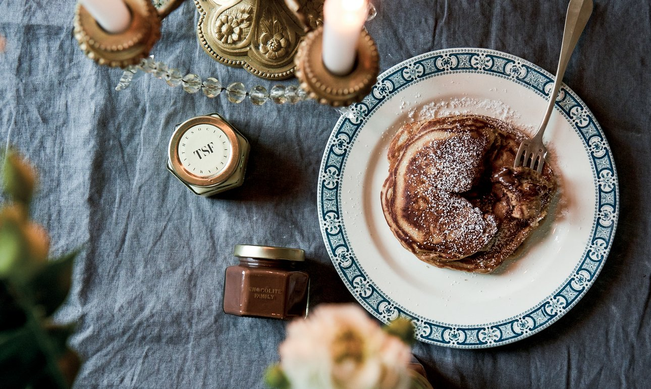Les pancakes spécial Chandeleur <br> The Socialite Family