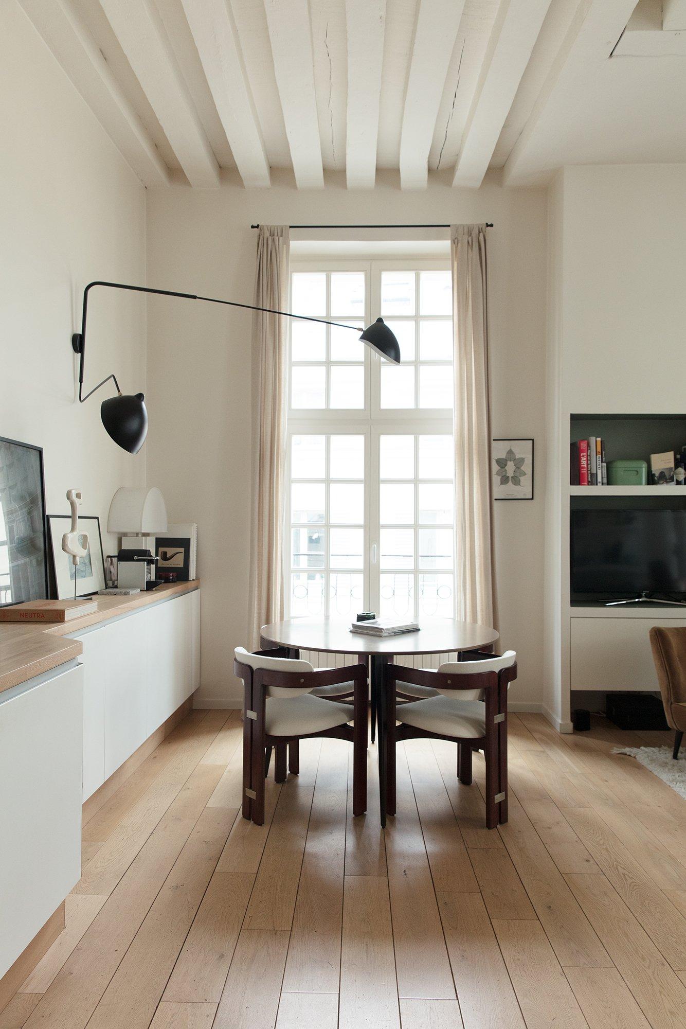 Salle à manger Cuisine William Ventura Architecte Paris Appartement