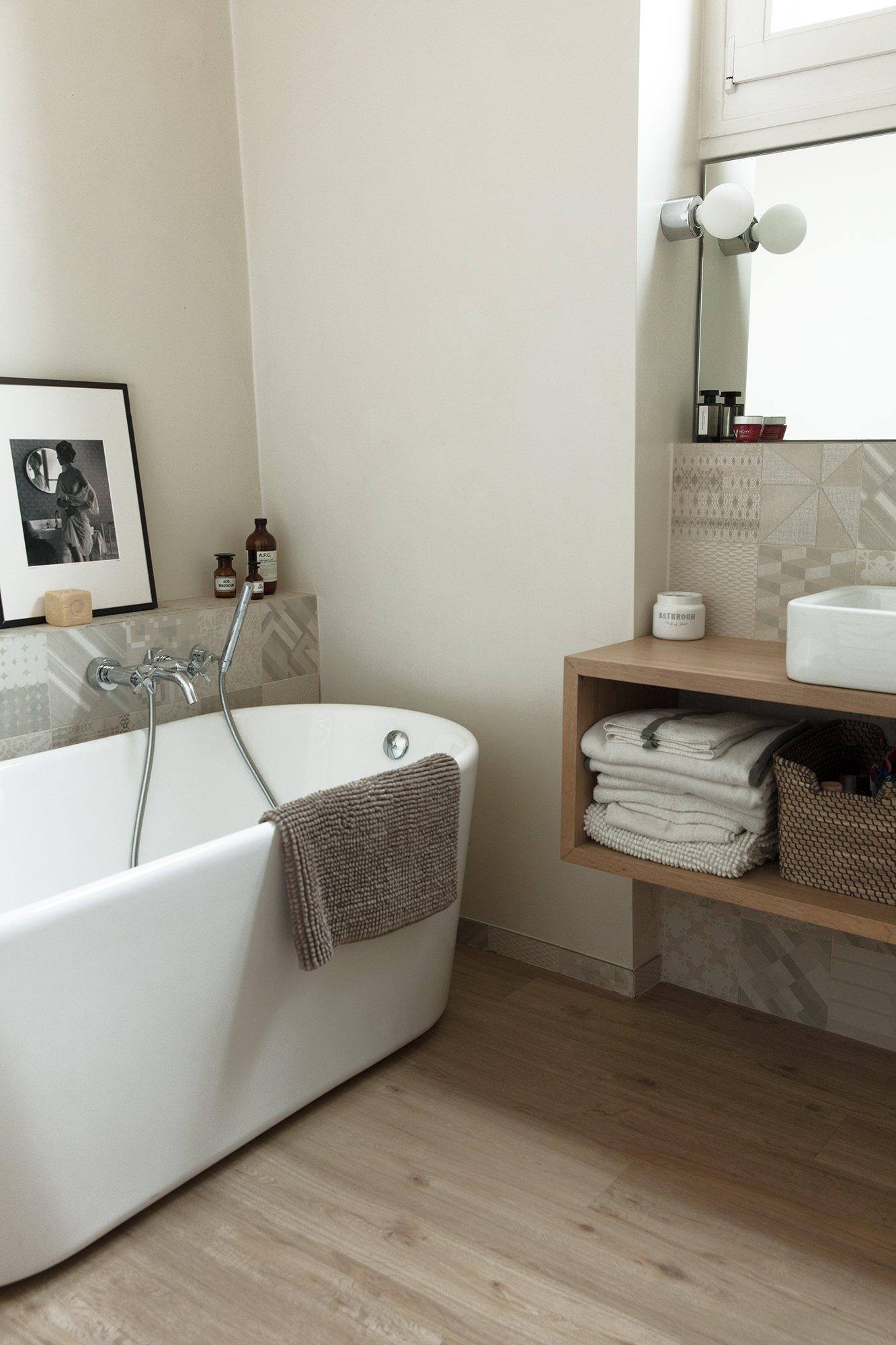 Salle de bain William Ventura Architecte Paris Appartement