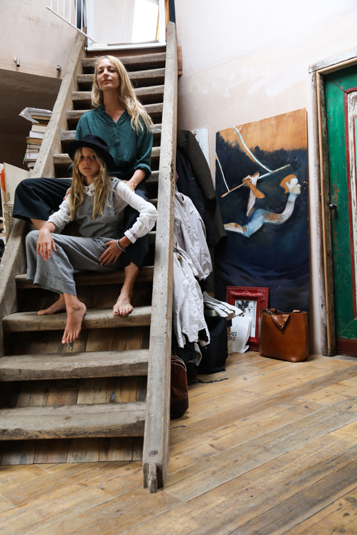 Atelier Appartement Londres Carolina Mazzolari et Conrad Shawcross