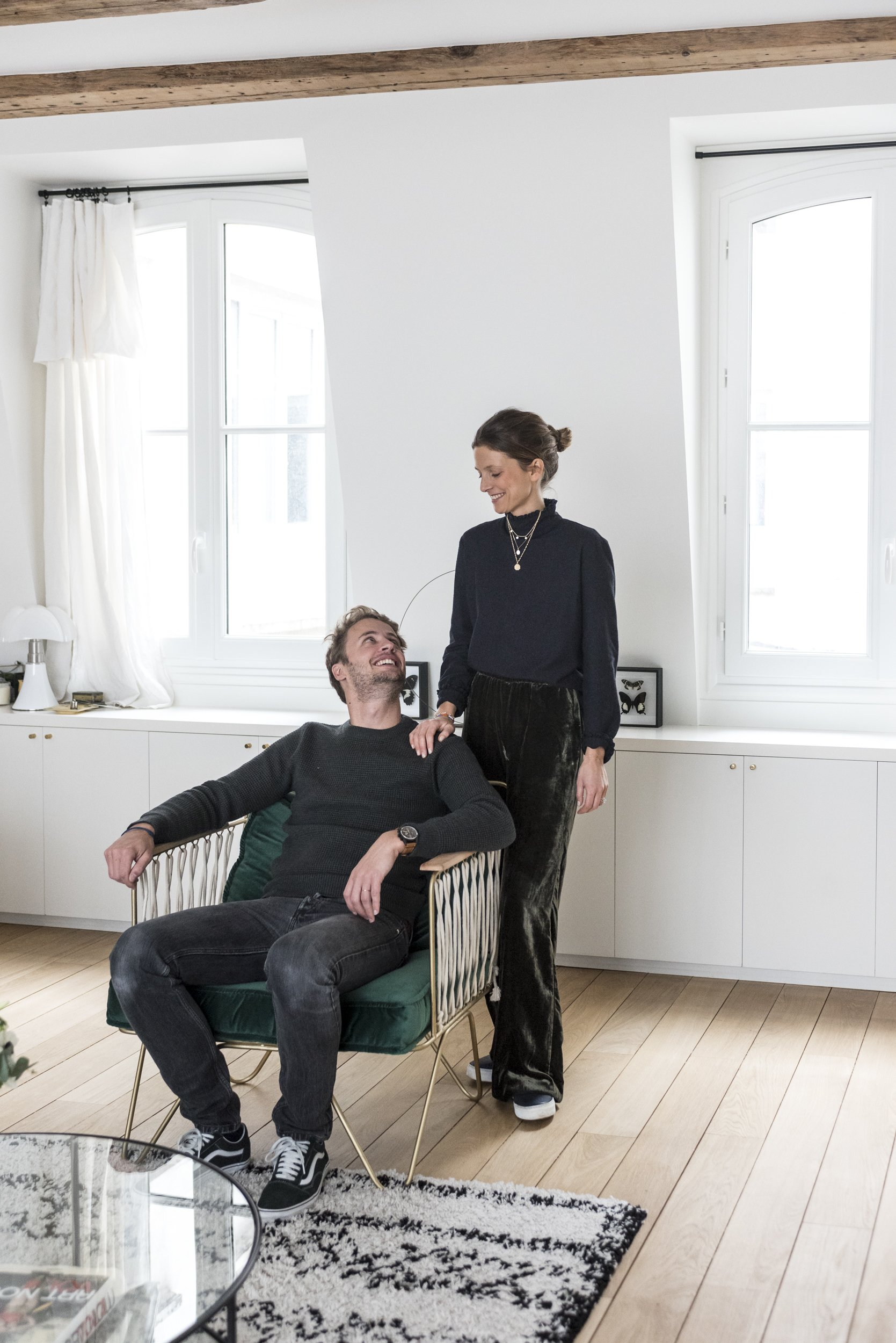 Jessica and Hugo Mulliez