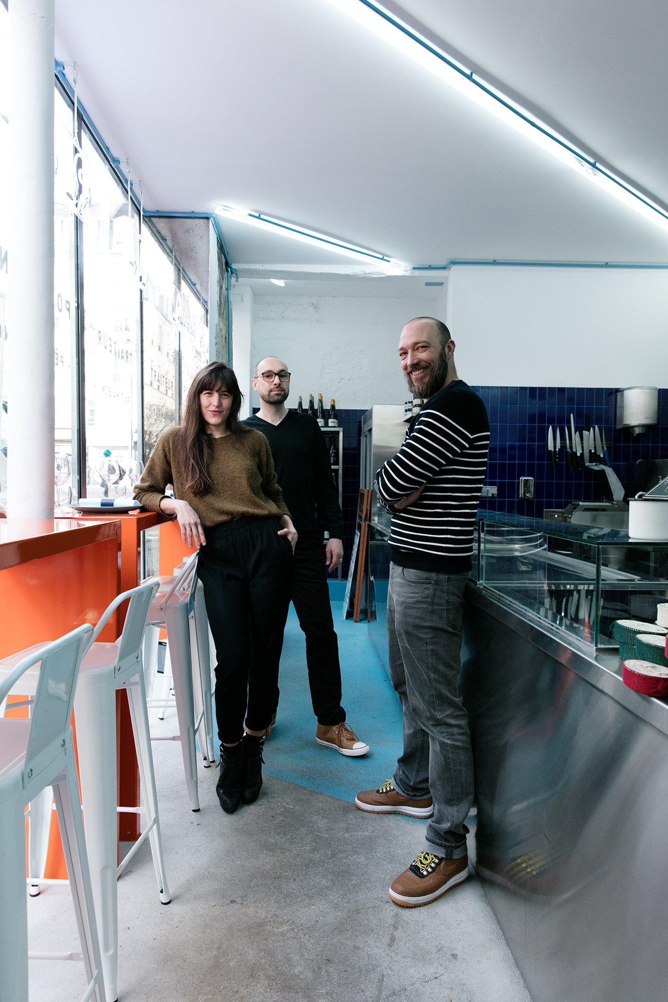 Équipe Poissonnerie Traiteur Restauration La Reine Mer Paris