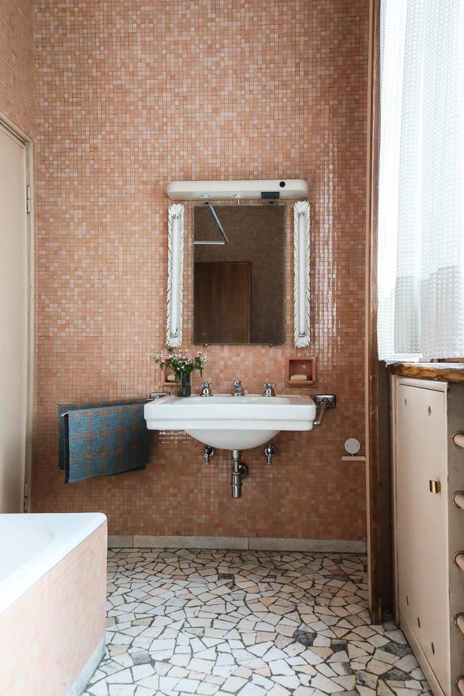 Salle de bain Villa Borsani Osvaldo Borsani Varedo Milan
