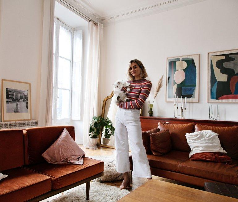 Anne-Laure Mais, muse à la française