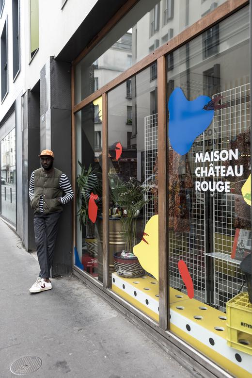 Portrait Youssouf Fofana Fondateur Maison Château Rouge Monoprix x Maison Château Rouge
