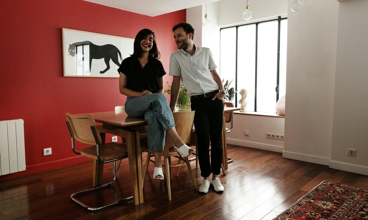 Ophélie Avril and Loïc Fercot