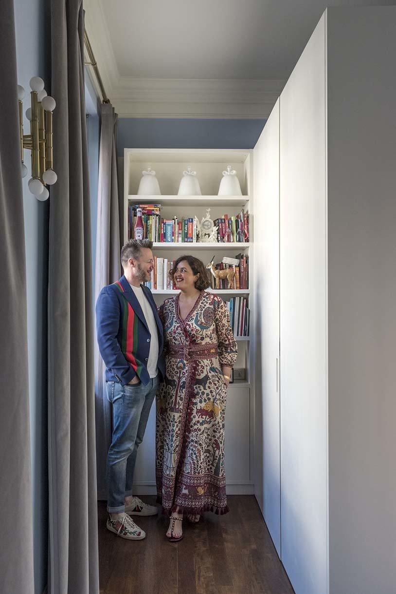Portrait Fabrizio et Nelcya Cantoni Fondateurs cc-tapis
