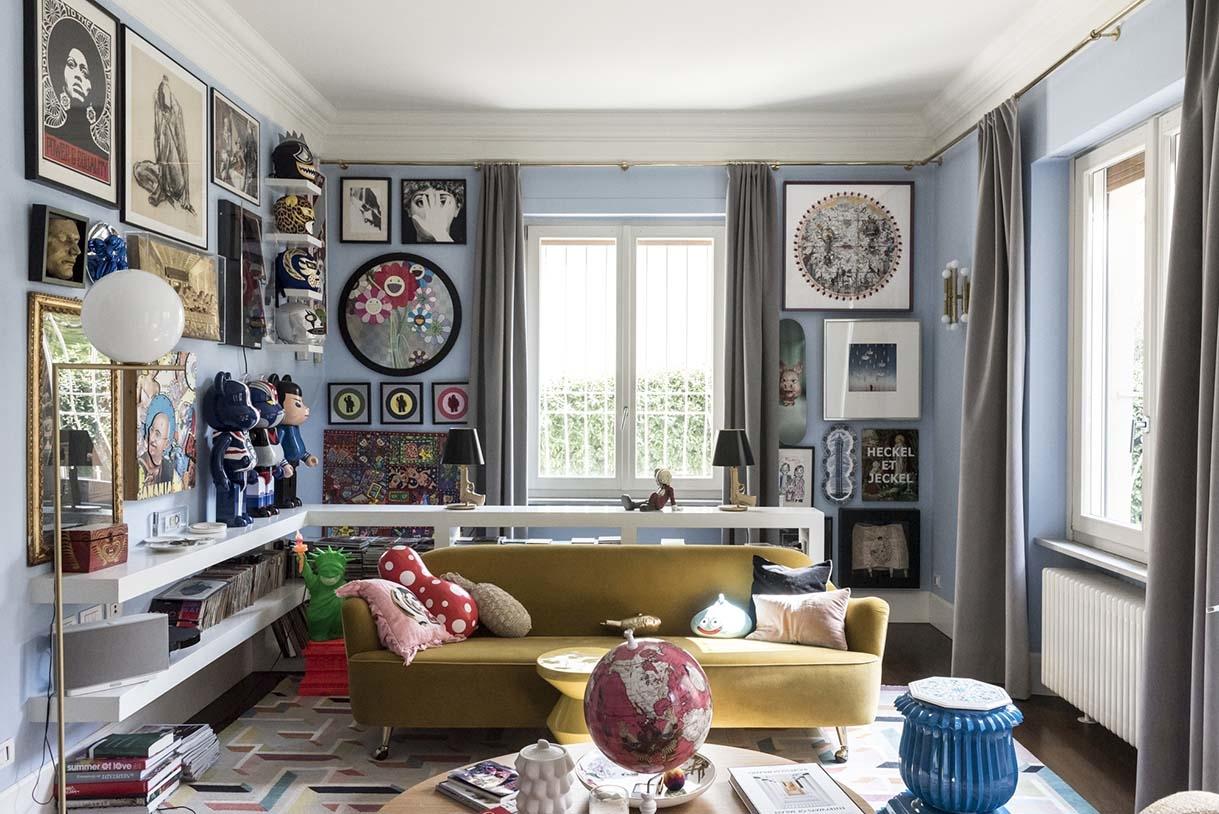 Salon – Fabrizio et Nelcya Cantoni