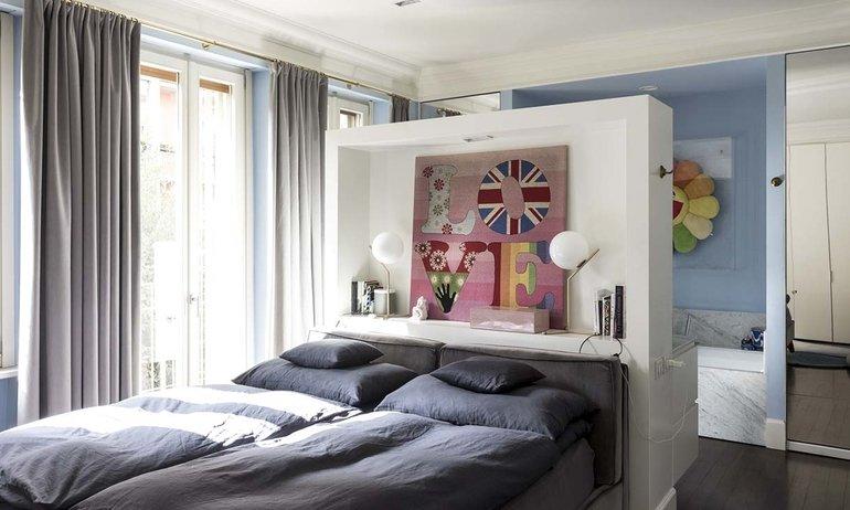 Chambre Maison Milan Fabrizio et Nelcya Cantoni