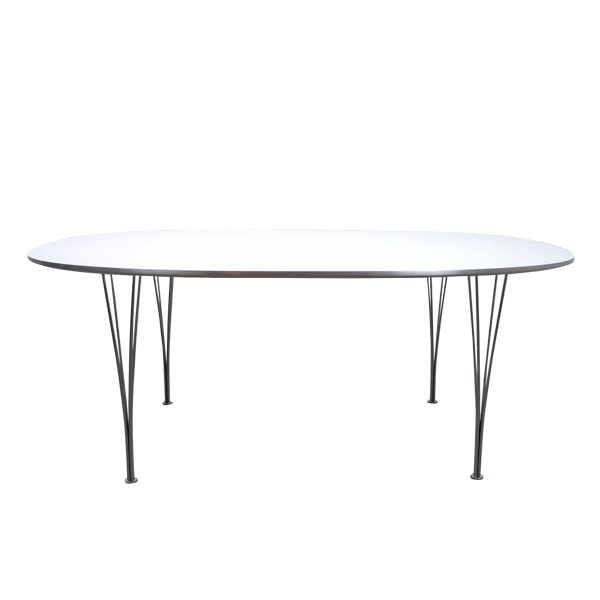 Arne Jacobsen Elliptical Table Edited By Fritz Hansen The