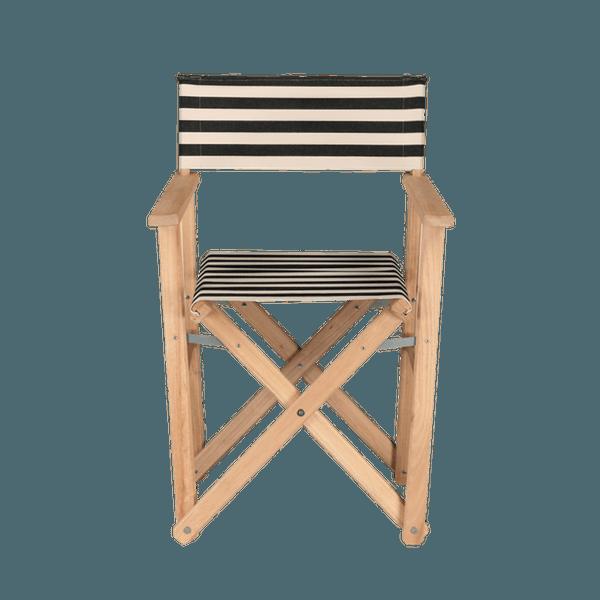 fauteuil metteur en scne lido noir - Fauteuil Metteur En Scene