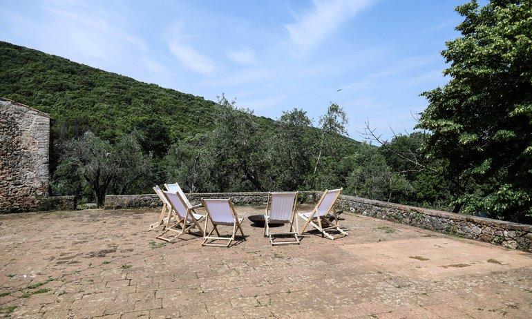 Extérieur Chaise longue Terrasse Ebbio