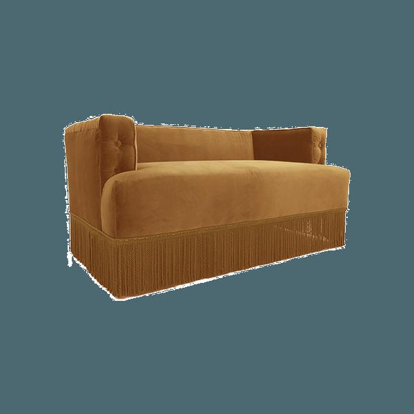 canap nonna en velours jaune moutarde the socialite family. Black Bedroom Furniture Sets. Home Design Ideas