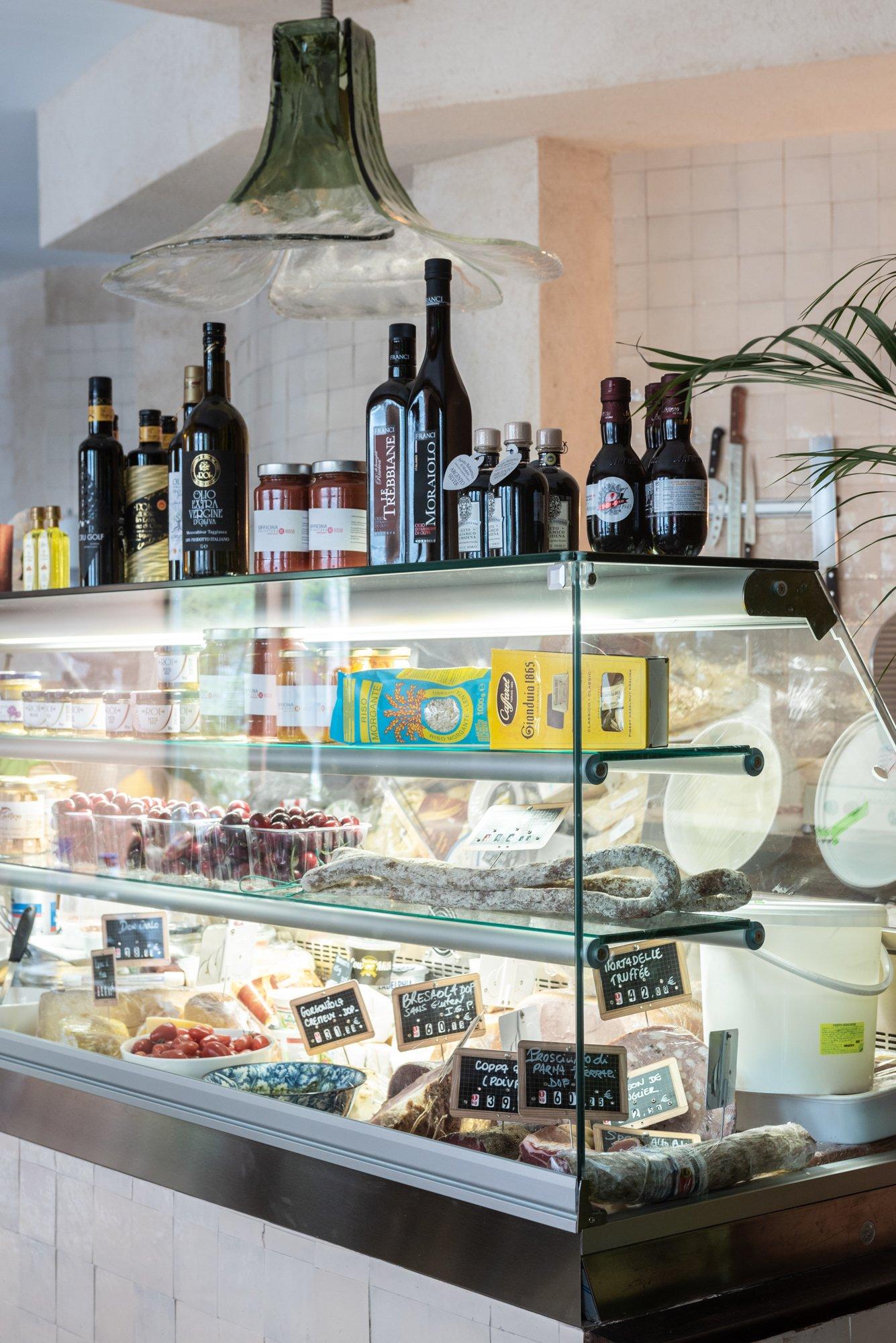 Epicerie Restaurant ZIOTONY Salumeria Laetitia Gennari