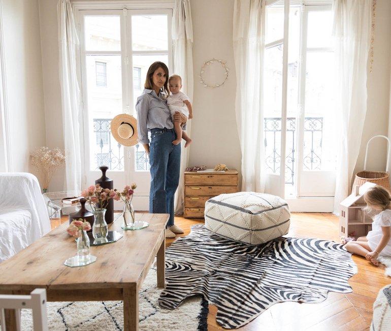 Audrey Borrego et Patrick, <br> Auguste 11 , Adèle 3, Madeleine 7 mois
