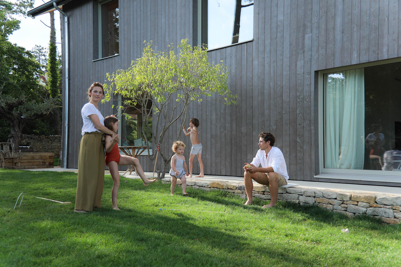 Confort Bain Design Bois Guillaume camille and guillaume boillot, paul 10, charlie 9, joseph 2