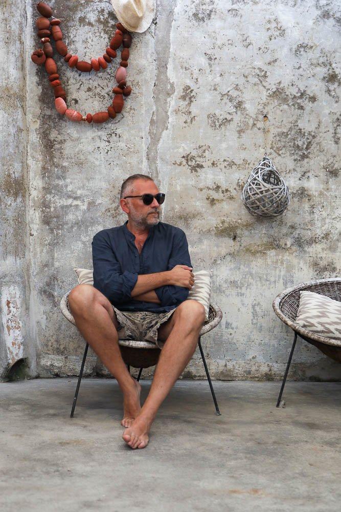 Portrait Luciano Giorgi Fondateur LGB Architecture