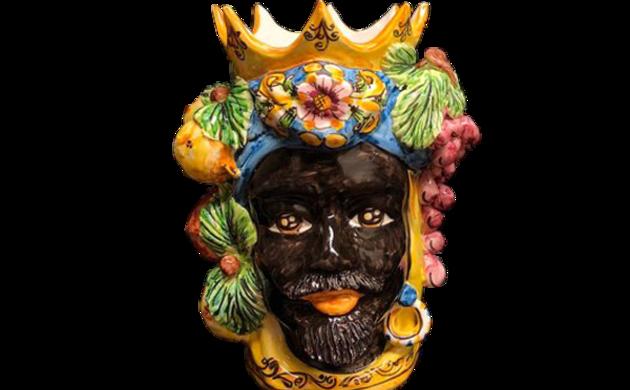 """Céramique artisanale """"Teste di Moro de Caltagirone"""""""