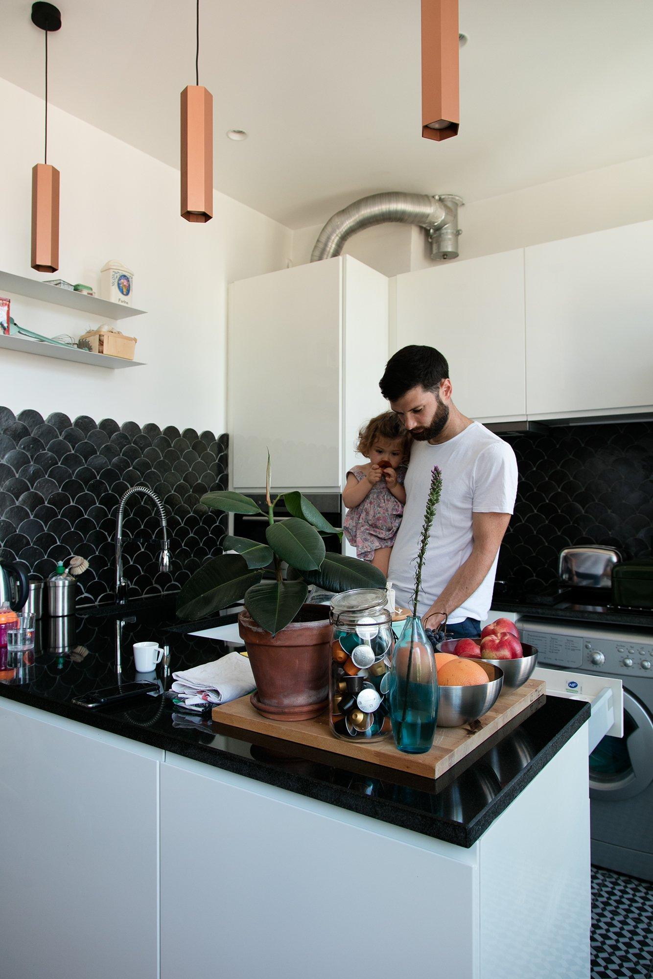 Cuisine Appartement Marseille Emma et Ghislain Borga