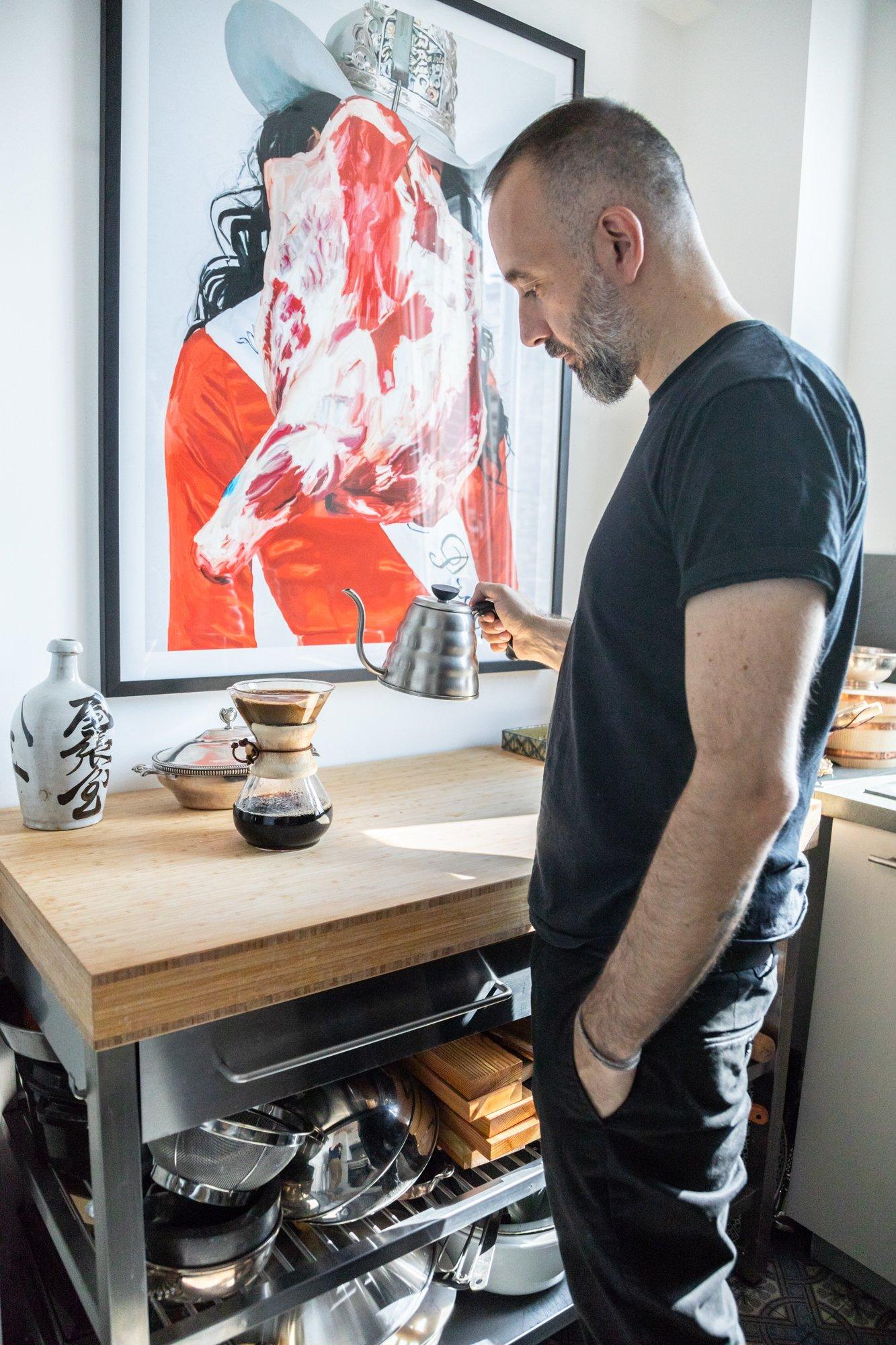 Portrait Cuisine Artiste Paris Jean Michel Roccuzzo