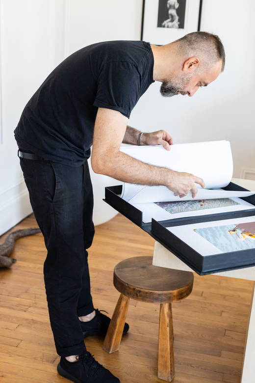 Portrait Artiste Paris Jean Michel Roccuzzo