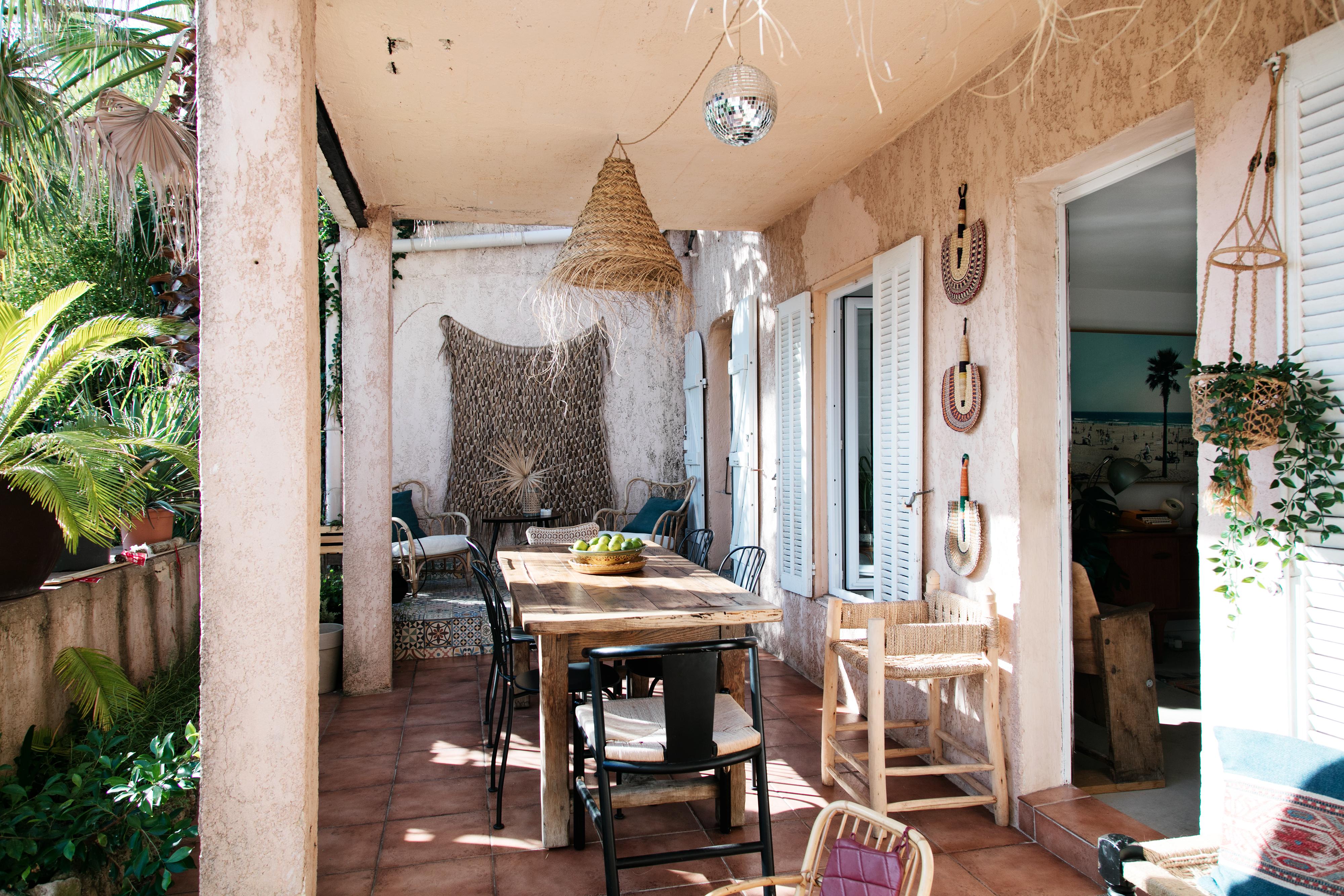 Terrasse – La Pinede