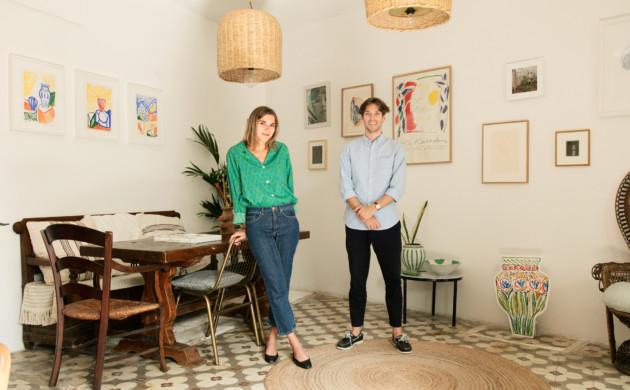 Emmanuelle Oddo et Nicolas Veidig-Favarel