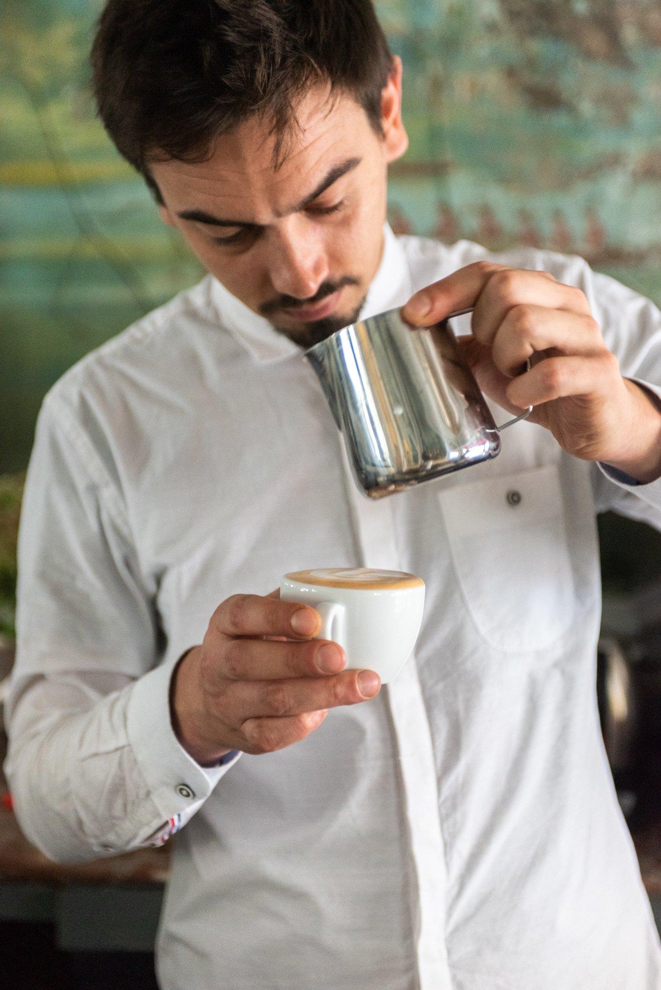 Youssef Louanjli associé Franck Audoux Restaurant Cocktail Bar Cravan