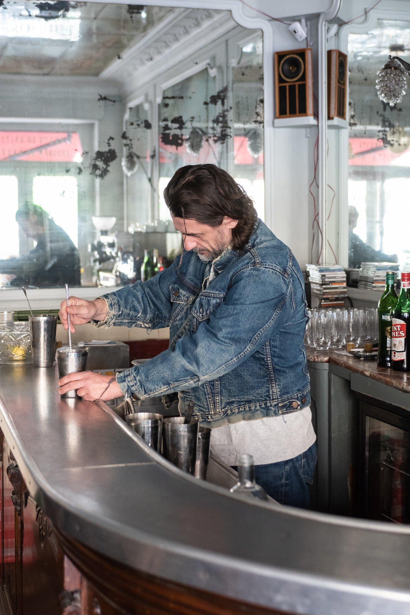 Franck Audoux Cofondateur Restaurant Cocktail Bar Cravan