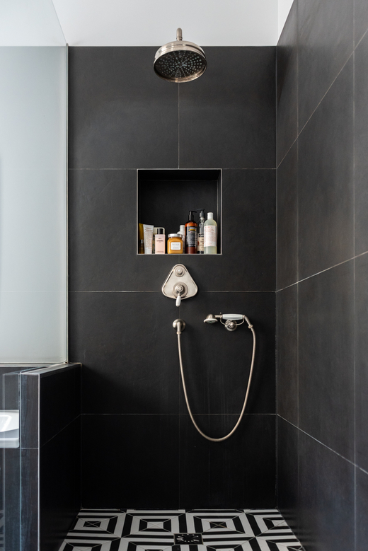 Salle de bain Douche Appartement Parisien Florence Elkouby Paris