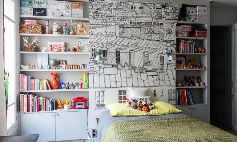 Chambre d'enfant Appartement Parisien Florence Elkouby Paris