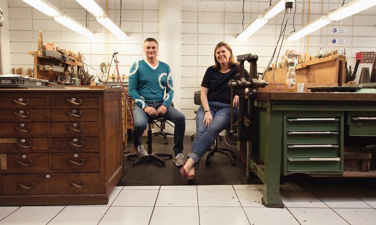 A Golden Opportunity to See <br> Puiforcat Silversmiths' Workshop