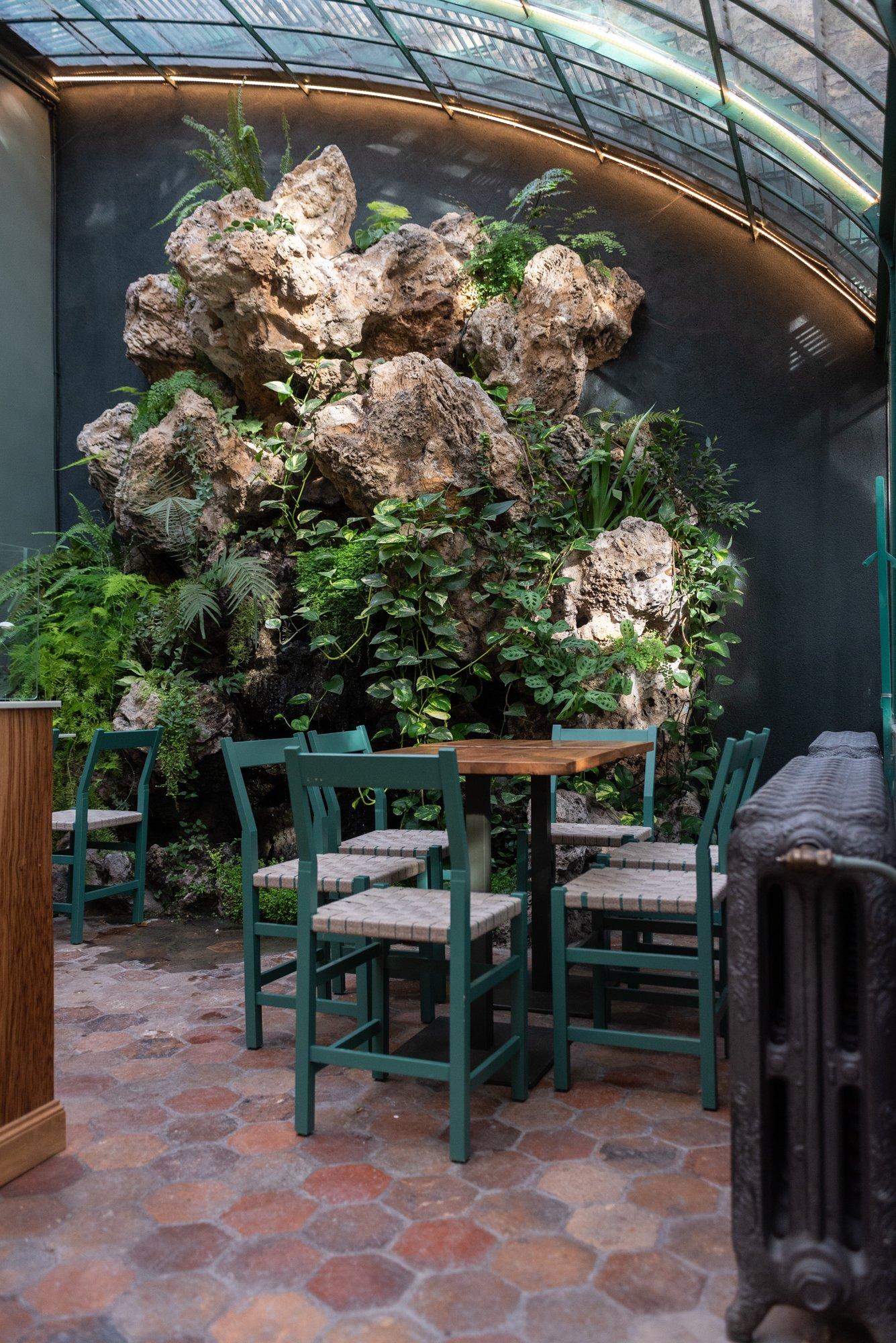 Intérieur Rose Bakery Musée de la Vie Romantique