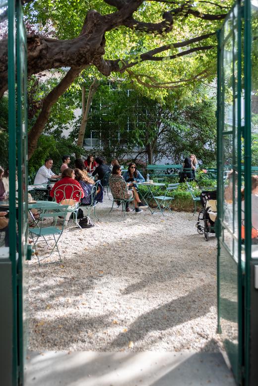 Jardin Extérieur Végétation Rose Bakery Musée de la Vie Romantique