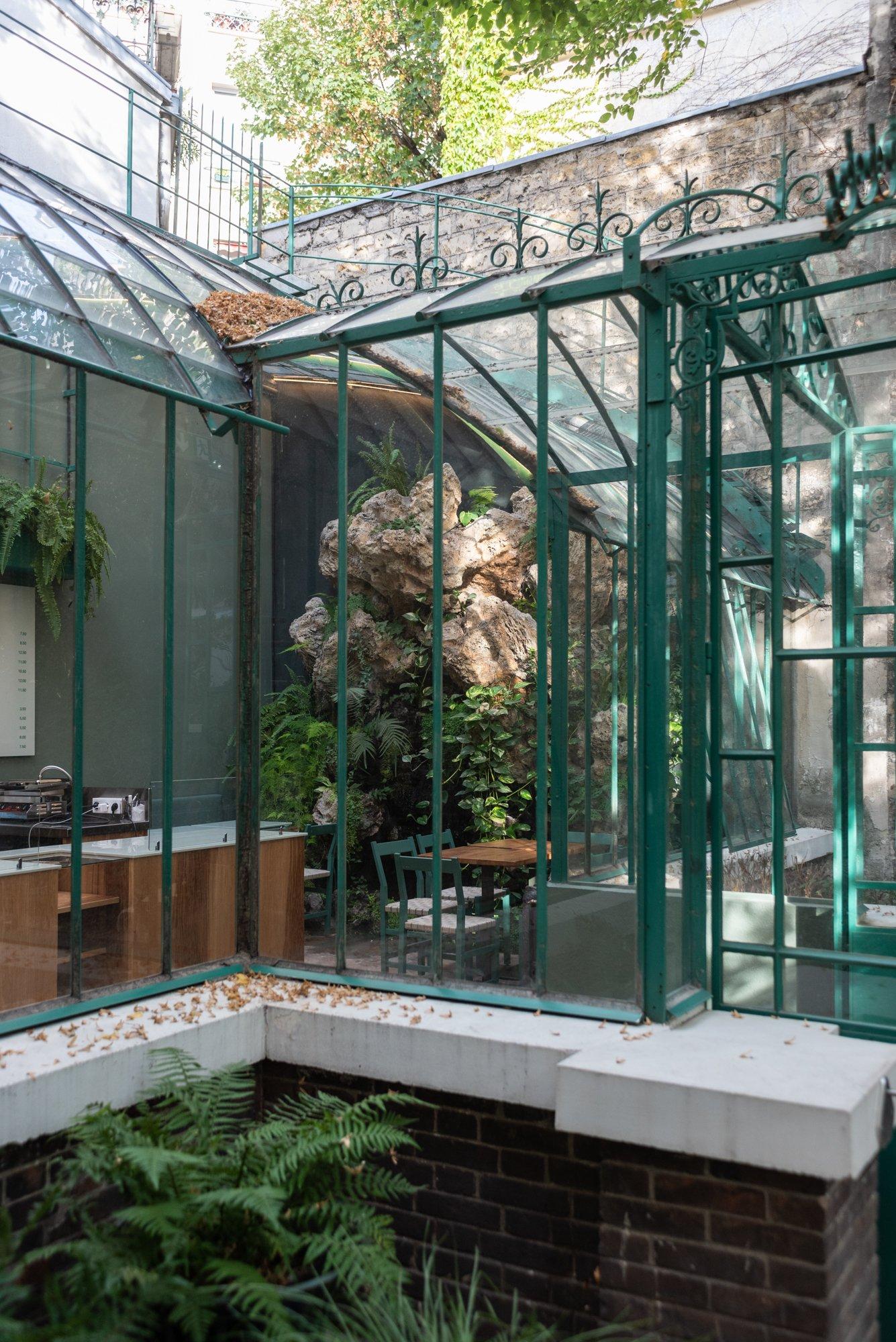Serre Jardin Extérieur Rose Bakery Musée de la Vie Romantique