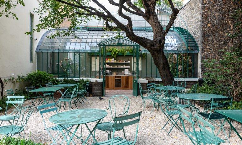 Jardin Muée de la Vie Romantique Rose Bakery