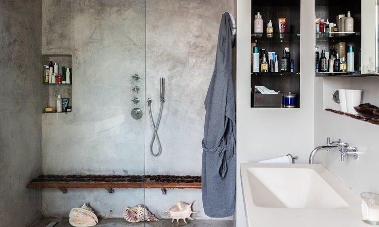 Salle de bain Paris Appartement Odéon Elisabeth Boucher et Philippe Feinsilber