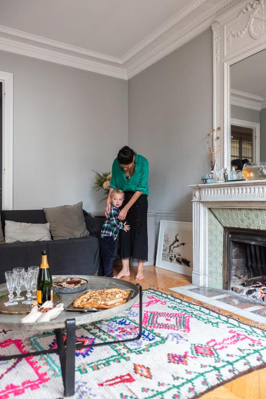 Portrait Appartement Paris Heloïse Brion Miss Maggie's Kitchen