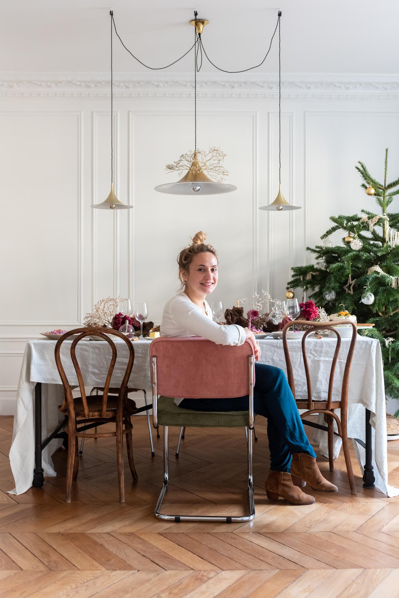 Table Salle à manger Portrait Jennifer Hart-Smith