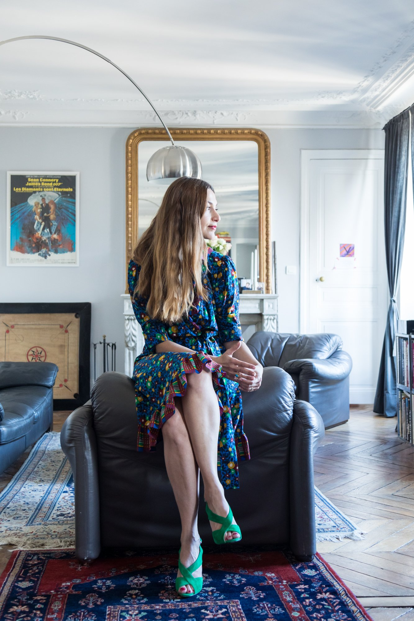 Salon Appartement Paris Portrait Anahita Vessier