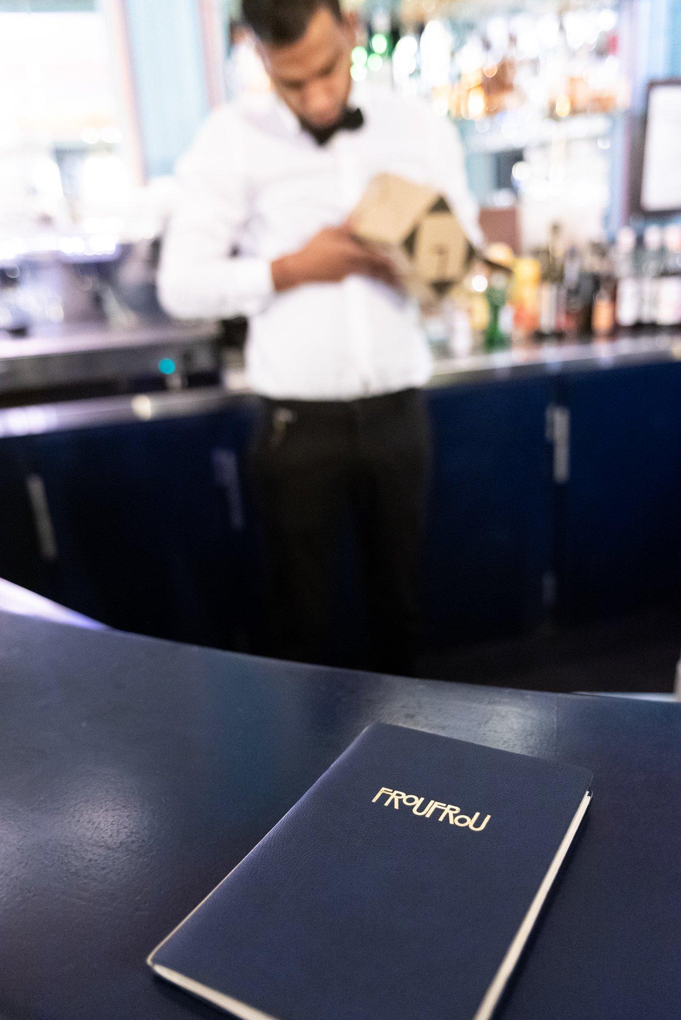 Bar Froufrou Restaurant Paris Théâtre Édouard VII Alexis Mabille Juan Arbelaez