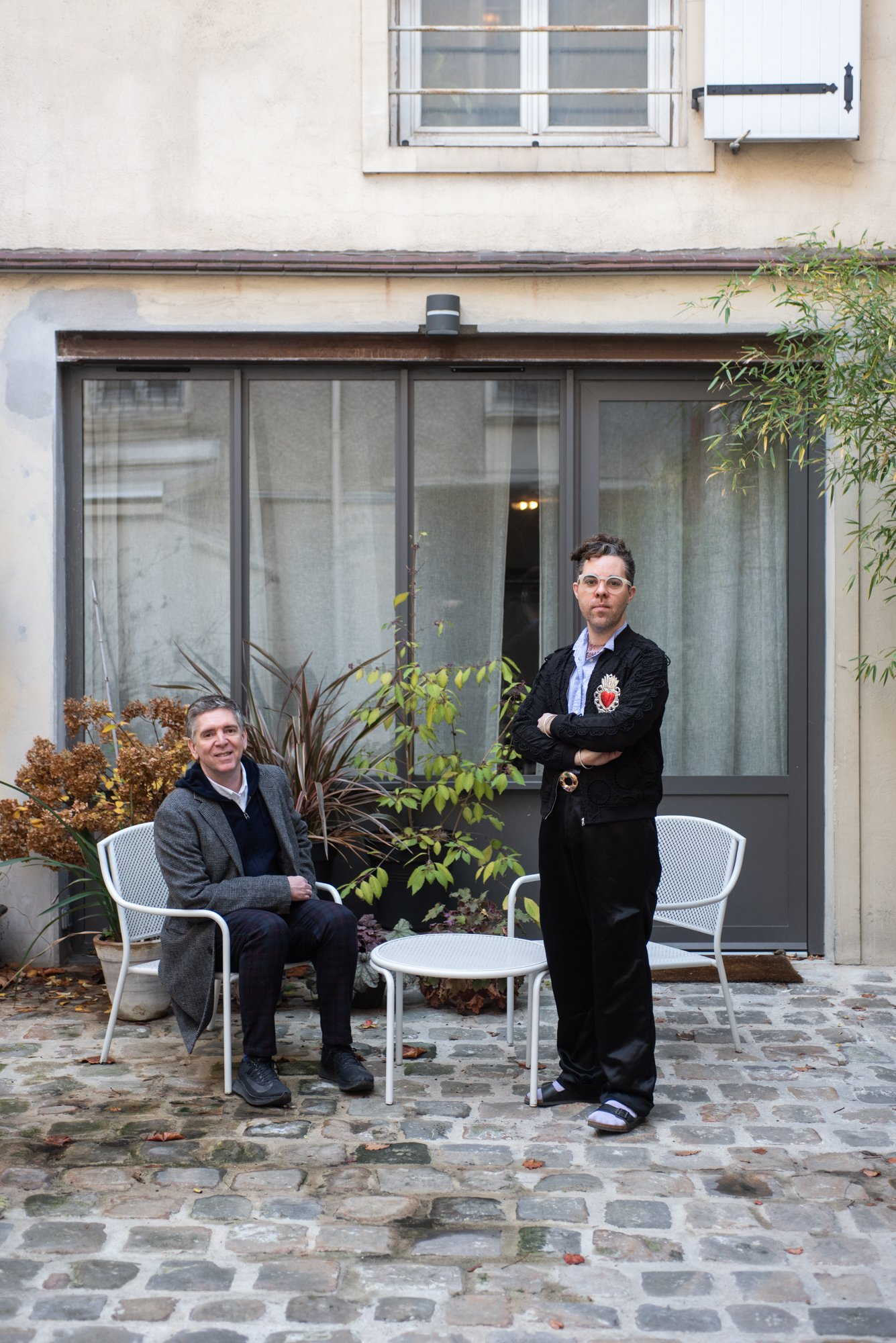 Mériadek Caraës et Olivier Lujan-Casas