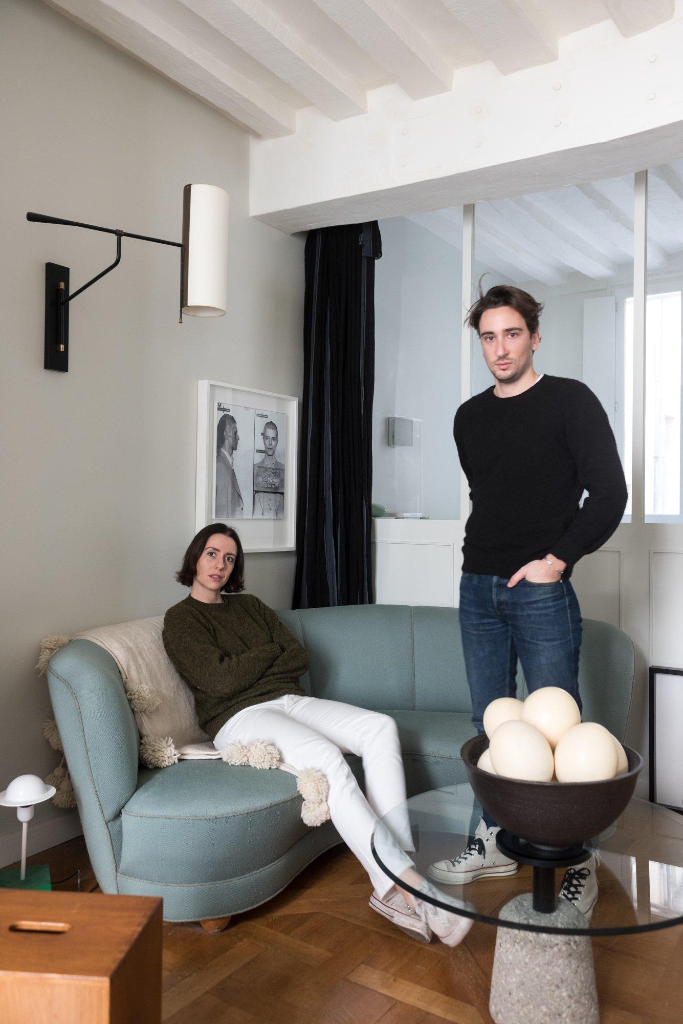 Portrait Salon Fondateurs Charlotte Albert et Alexis Lamesta Necchi Architecture